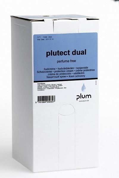 Hautschutzcreme Plutect Dual 0,7 l bag-in-box - PLUM