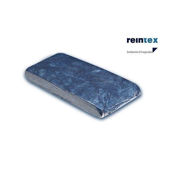 Einmal-Decken mit Polyesterwattefüllung in blau von Reintex