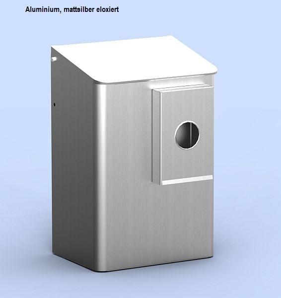 Abfallbehälter mit Hygienebeutelhalter und Klappdeckel 6 Liter