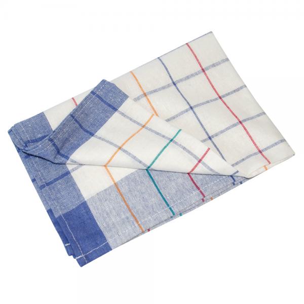 Geschirrtuch Baumwolle 70 x 50 cm bunt gestreift