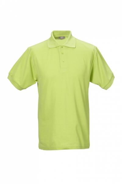 Unisex Polo-Shirt apfelgrün