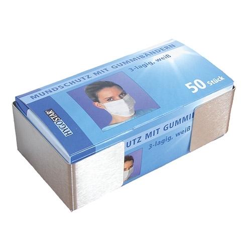 Spenderhalter für Mundschutz aus Vlies