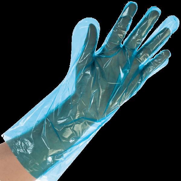 LDPE-Handschuh SOFTLINE 38 cm, blau