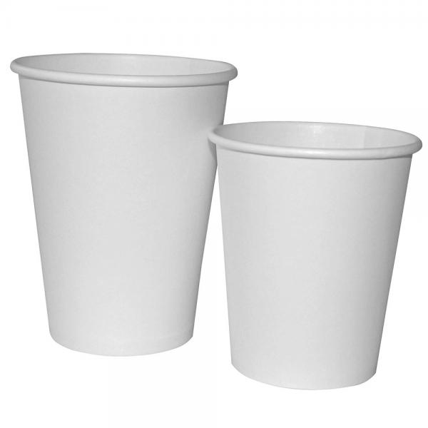 Getränke-Becher GUSTO - einwandig 0,2 l, weiß