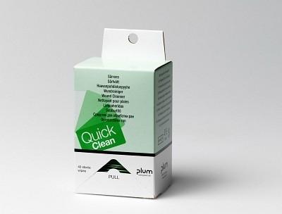 QuickClean Wundreinigungstücher von PLUM