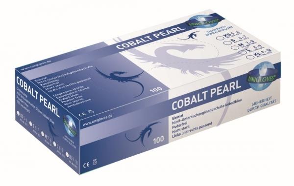 Nitril-Handschuhe Cobalt Pearl