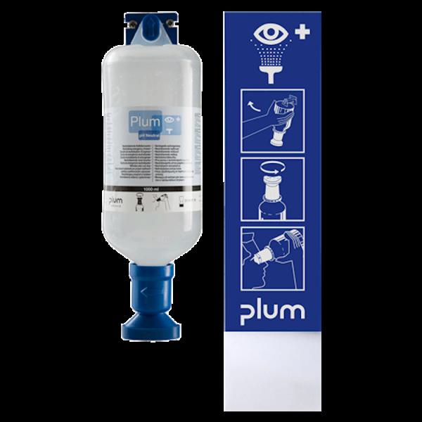 Augen-Notfallstation Augenspülflasche ph-Neutral 1000ml