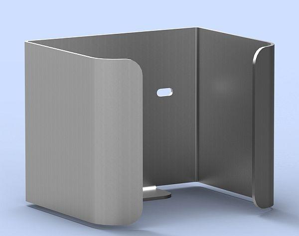 WC-Reserverollenhalter für 1 Standardrolle