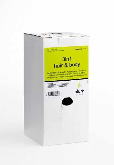 Cremeseifen 3in1 Hair & Body, 1,4 L bag-in-box - PLUM