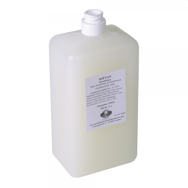 Waschlotion SOFTAN seifenfrei alkalifrei duftneutral