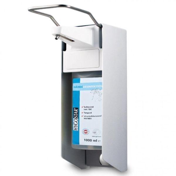Armhebelspender mit Aluminium-Gehäuse, 1 Liter - HYGOCLEAN