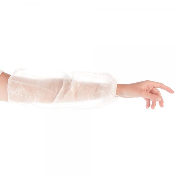 Schutzärmel PP, PE-beschichtet 45 cm, weiß