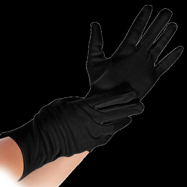8ee36eaa3eb75b Baumwollhandschuhe schwarz NERO von HYGOSTAR - VE 12 Paar