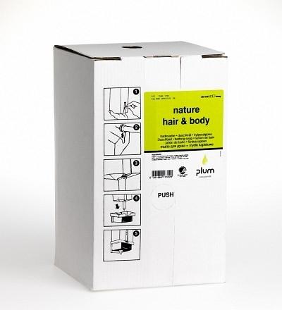 Cremeseifen Nature Hair & Body, 4,2 L bag-in-box - PLUM