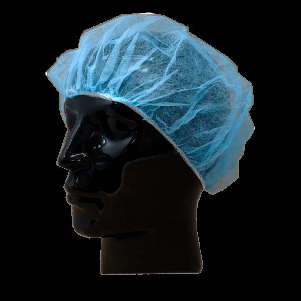 Baretthaube blau