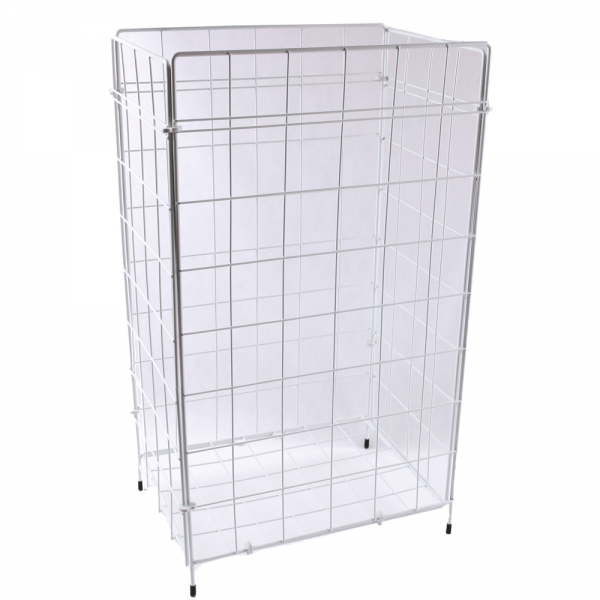 Abfall-Gitterkorb 57 x 36 x 25 cm weiß