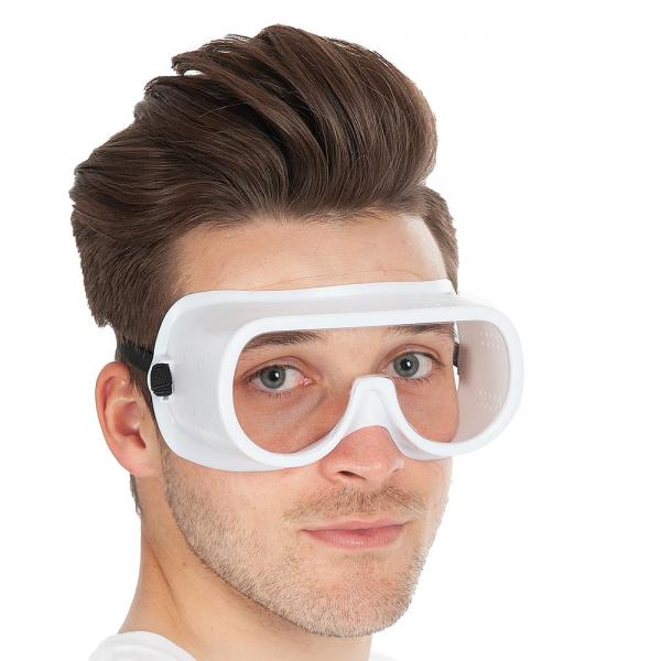 Vollsichtschutzbrille UNIVERSAL weiß