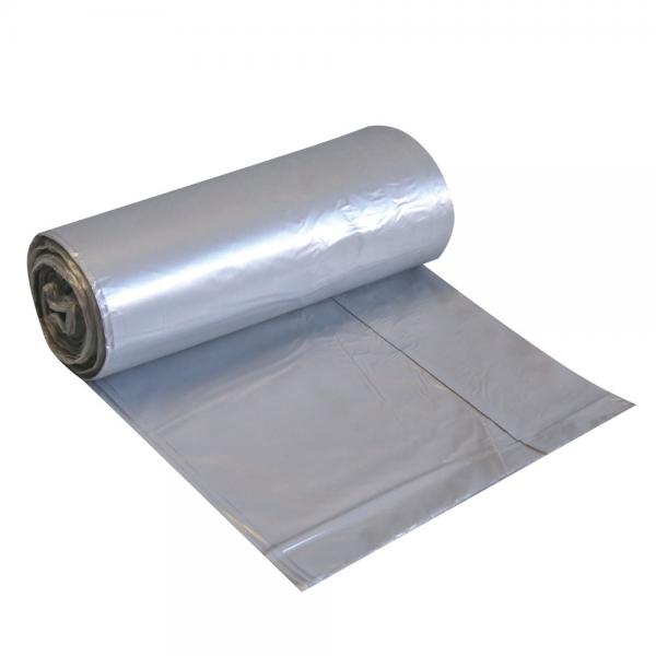 HDPE Müllbeutel 30 l auf Rolle grau