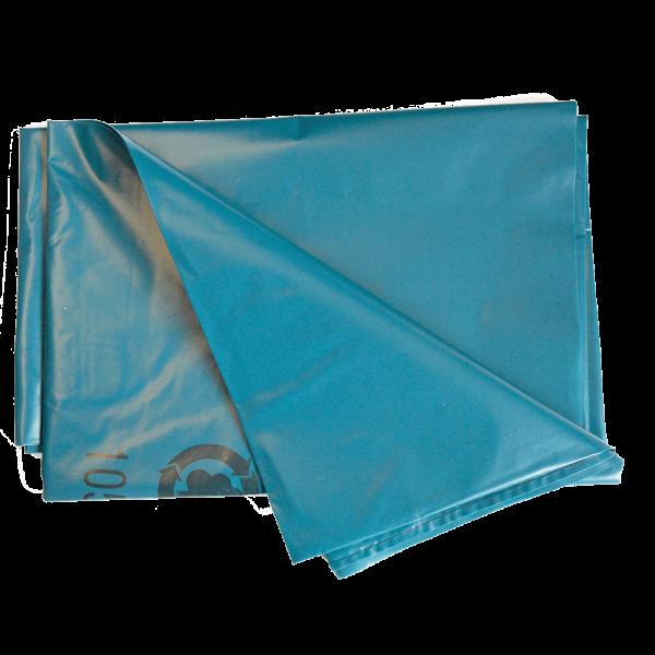LDPE Abfallsack 240 l gelegt, blau