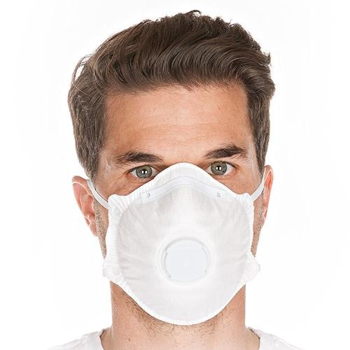 Atemschutzmaske FFP1 mit Ventil - 20 Stck.