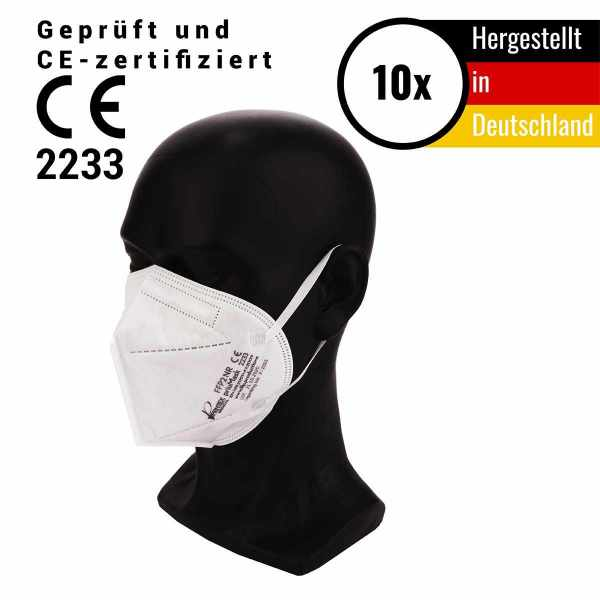 Atemschutzmaske FFP2 NR made in germany CE 2233