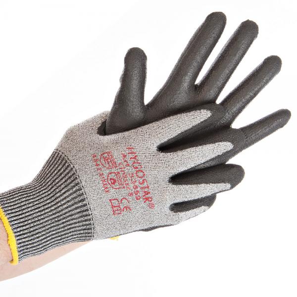 Schnittschutz Handschuhe CUT SAFE grau XL